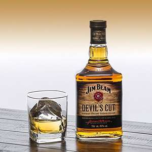 Jim Beam Devil's Cut Kentucky Straight Bourbon Whiskey Whisky, 70 cl - Amazon - £15.50 for Primers / £20.25 non prime