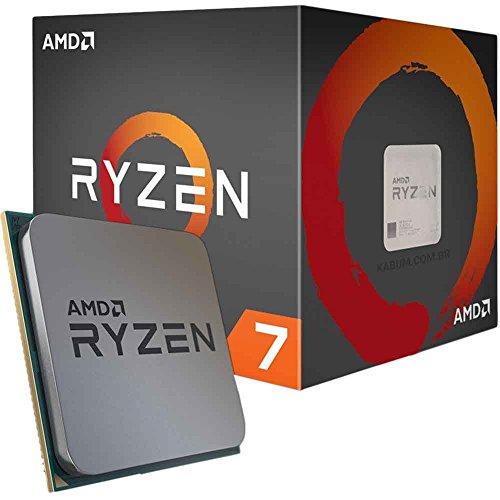 RYZEN 7 1800X 8-Core 3.6 GHz (4.0 GHz Turbo) Socket AM4 95W Desktop Processor £299.99 for prime members @ Amazon