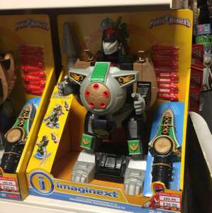 Remote control power ranger instore at A1 Toys for £20