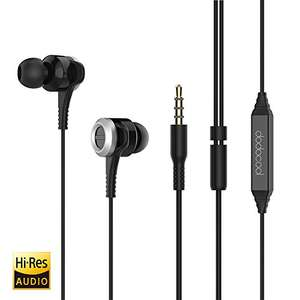 Dodocool Hi-Res In-Ear Earphones with Sound Isolation and In-line Remote (£5.99 - Amazon)