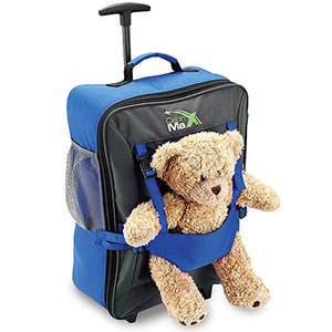 Childrens Luggage Carry On Trolley Suitcase - Cabin Luggage Sold by Home & Travel and Fulfilled by Amazon - £29.95