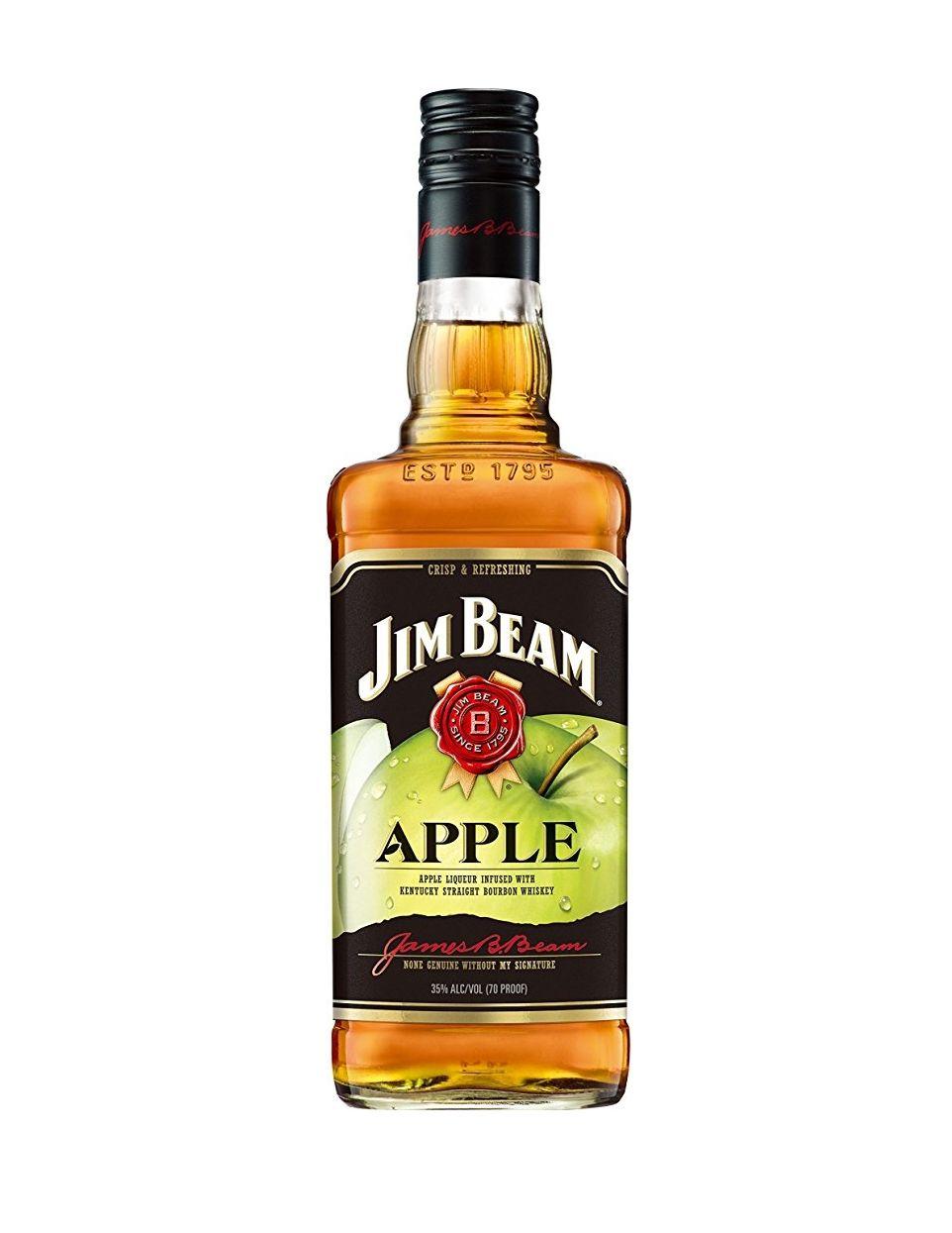 Jim beam apple bourbon whisky 70c amazon PRIMEl
