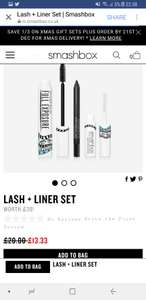 Smashbox Lash & Liner Gift set £13.33 @ Smashbox - FREE Delivery & FREE Samples