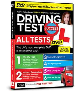 Driving Test Success All Tests DVD Reduced to £4.75 @ Amazon