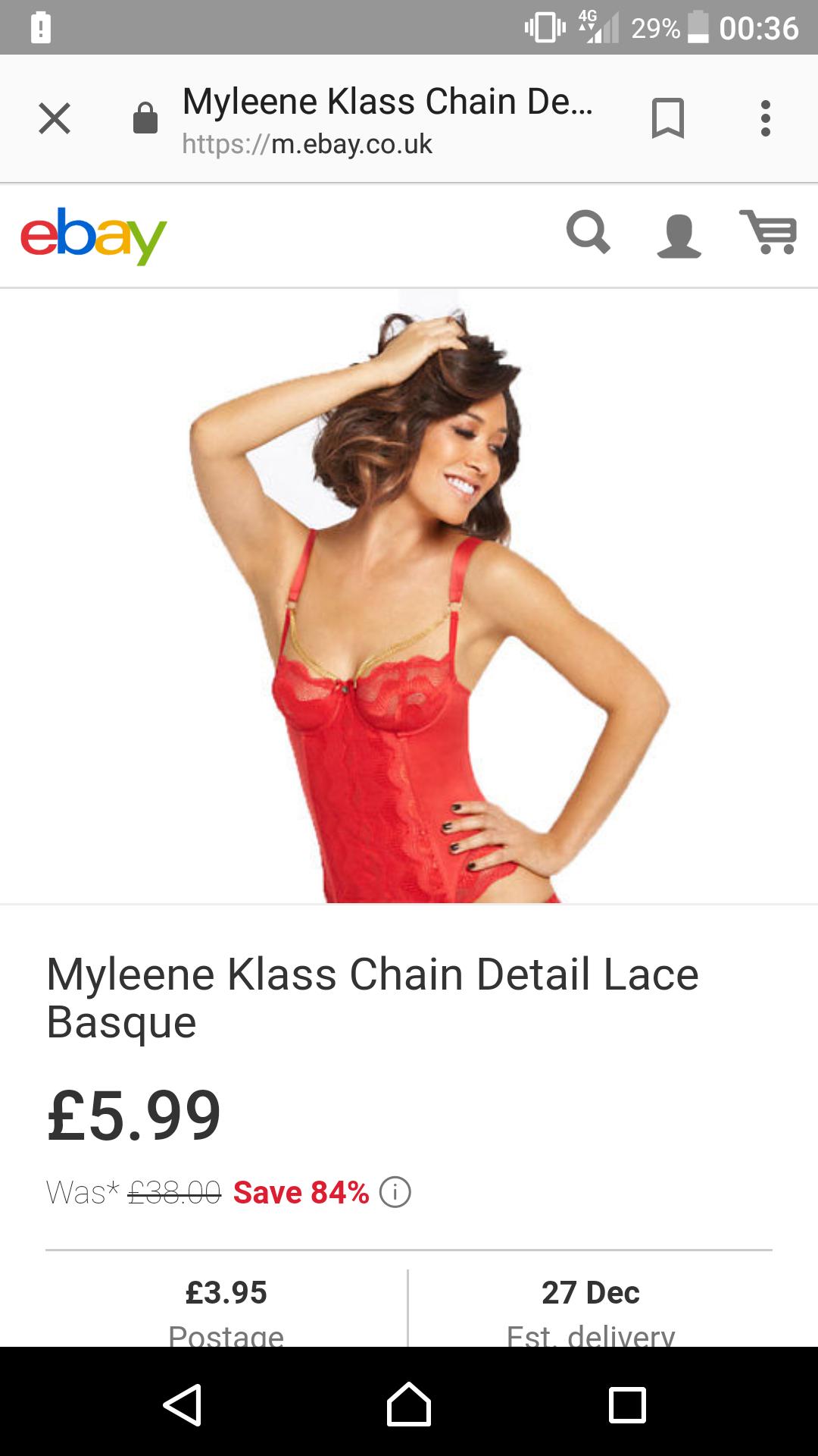 Myleene klass basque ( seller littlewoods)  on ebay for £9.94