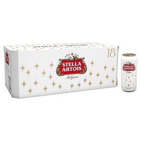 Stella Artois lager 18 x 440ml £12 @ Asda