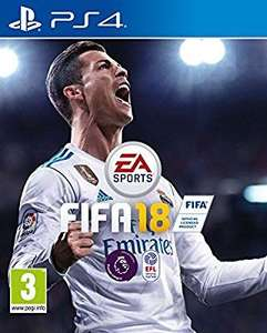 Fifa 18 ps4 at Amazon for £31.49