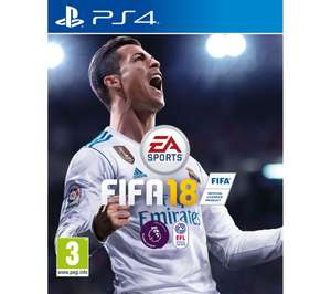 Fifa 18 XB1/PS4 £33.99 Currys PC World
