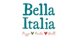 Kids eat free at Bella Italia with code via VoucherCodes.co.uk
