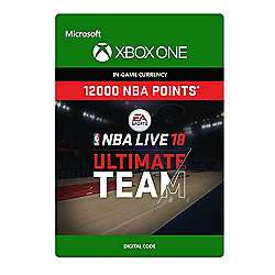 NBA LIVE 18: NBA UT 12000 Points Pack (Digital Download Code) - £4.79 @ Tesco Direct