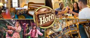 Alton towers. 2018 short breaks. Save up to 40%
