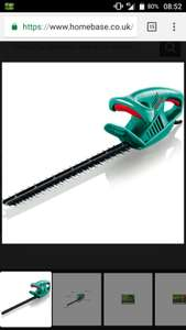 Bosch AHS 50-16 Electric hedge trimmer at Homebase for £25