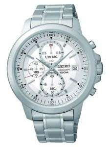 Seiko Stainless Steel Chrono Watch £44.99 Argos/eBay