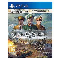 Sudden Strike 4 PS4 Day One Edition Drop @ Game/Amazon to £24.99
