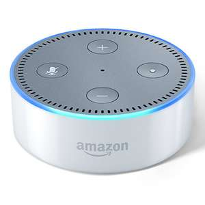 WHITE Amazon Echo Dot IN STOCK at John Lewis! Be quick! £34.99 Free click and collect!