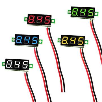 Geekcreit 0.28 Inch 2.5V-30V Mini Digital Volt Meter Voltage Tester Meter Banggood - £1.06