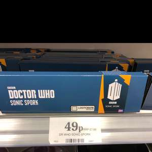 Dr Who Sonic Spork only 49p @ Home Bargains RRP £7.99