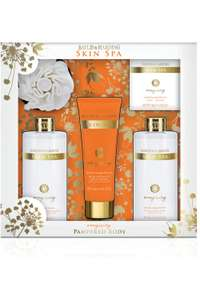 BAYLIS & HARDING SKIN SPA ENERGISING 5 PIECE  SET was £30 - £9