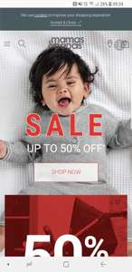 Mama and Papa up to 50% sale now on!