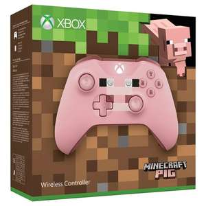 Xbox One Wireless Minecraft Pig Controller Pink £44.99 @smyths