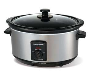 £19.99 only for MORPHY RICHARDS 48709 Slow Cooker, Stainless Steel @ Currys