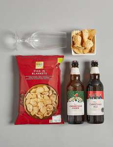 Marks and Spencer Christmas Cider and Ale Gift delivered in time for Christmas