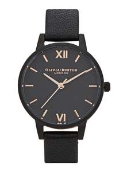 Olivia Burton After Dark Midi Matte Black Watch - £35 @ Harvey Nichols
