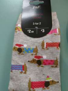 **Tesco glitch** Ladies socks scanning at £1 and 3 for 2! instore