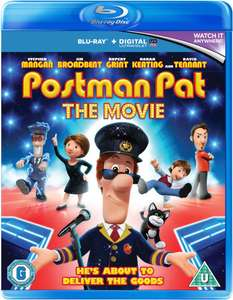 Postman Pat (Includes UltraViolet Copy) / Alvin and The Chipmunks The Squeakquel Blu-ray £1.99 each (+£1.99 P&P) @ zavvi