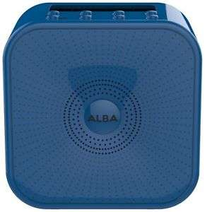 Now £11.45! Alba LCD Bluetooth DAB Radio (Blue) £12.45 @ Argos eBay Store