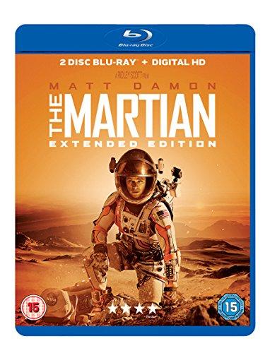 The Martian Blu-ray (2-disc Extended Edition) £4.49 (Prime) £6.48 (Non Prime) @ Amazon
