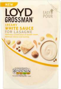 Loyd Grossman Lasagne Creamy White Sauce (380g) was £1.80 now only £1.00 @ Sainsbury's