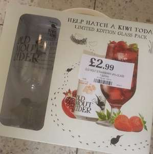 Old Mout Strawberry Gift Set only £2.99 @ Home Bargains