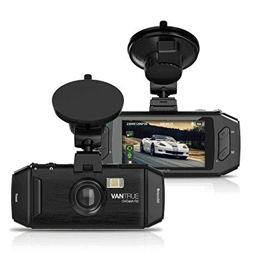 "Vantrue R2 Dash Cam 2K HD 1296P 2560x1080 2.7"" LCD £50.99 Sold by VANTRUE_EU and Fulfilled by Amazon"