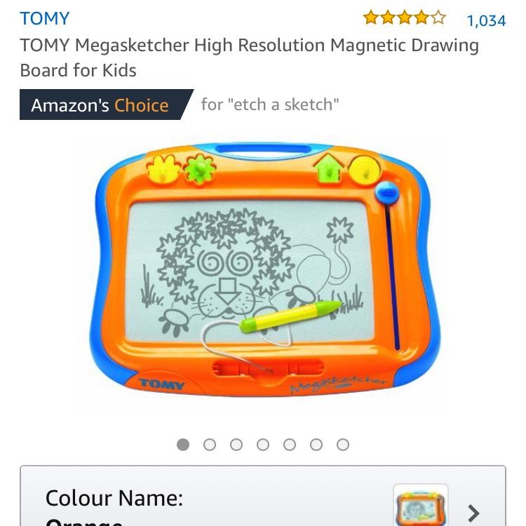 TOMY Megasketcher £7.49 prime / £12.24 non prime @ Amazon