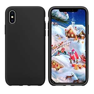 Humixx Silicone Rubber iPhone X Case /w FLMLPOOJ coupon £6.99 Prime/  £10.98 Non Prime  - Sold by Humixx UK and Fulfilled by Amazon