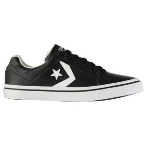 Converse cons leather trainers £32.99 delivered @ Sports direct