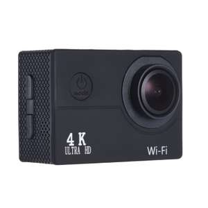 "2"" LCD V3 4K 30fps 16MP WiFi Action Sports Camera £23.09 Delivered @ Tomtop"