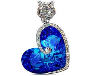 "82% off on""Aphrodite"" Heart Design Pendant Necklace £18.39 prime / £22.38 non prime Sold by J.NINA JEWELLERY and Fulfilled by Amazon - Lightning deal"