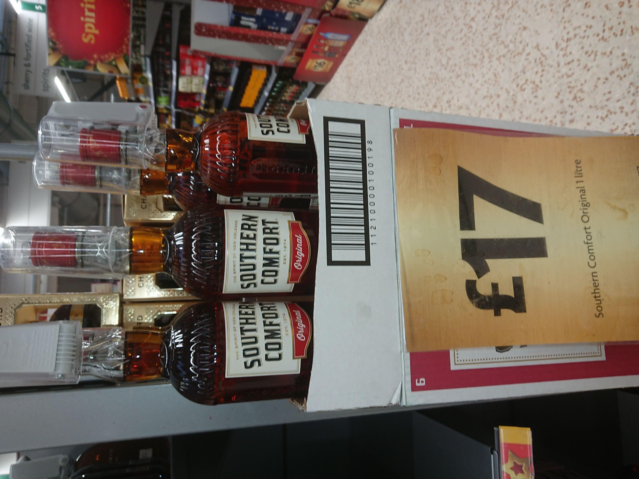 Southern Comfort 1 litre £17 Morrisons instore