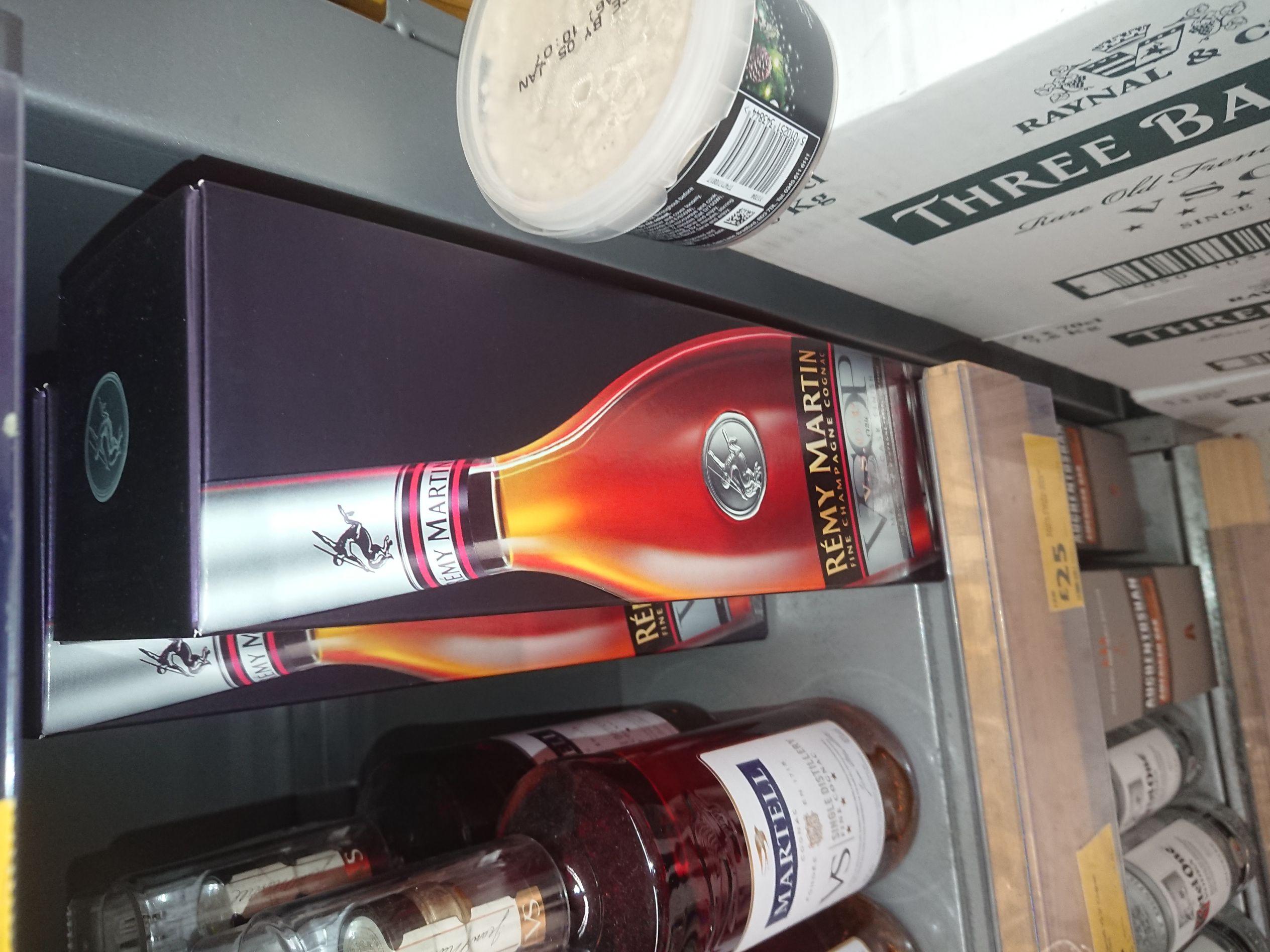 Remy Martin VSOP Champagne Cognac 70 cl £25 Morrison s