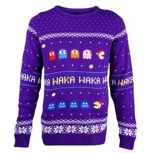 PAC Man Christmas Jumper £19.99 @ Game WAS £34.99