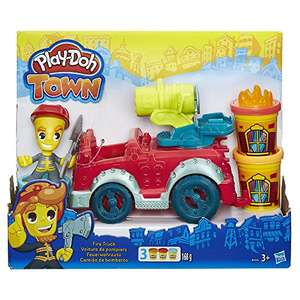 Play-Doh Town Fire Truck - £5.82 Prime / £10.57 non-Prime @ Amazon