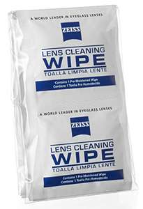 ZEISS Lens Wipes - Pack of 200 - £8.89 (Prime) reduced from £19.99 / £13.64 (non Prime) @ Amazon Prime
