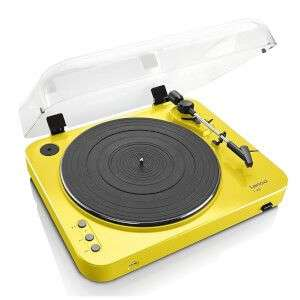 LENCO L-85 TURNTABLE WITH USB DIRECT RECORDING - YELLOW £79.99 @ Zavvi