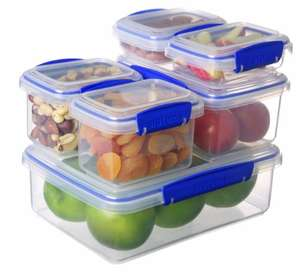 Sistema KLIP IT Container - Pack of 6 £6.69 for set of 6 / £11.44 non prime @ amazon
