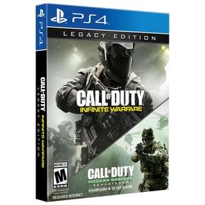 Call of Duty: Infinite Warfare - Legacy Edition - PS4 / Xbox One - £9.99 + Free Delivery @ Game