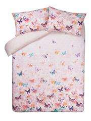 Pretty lace butterfly duvet cover-double - £6 @ Asda George