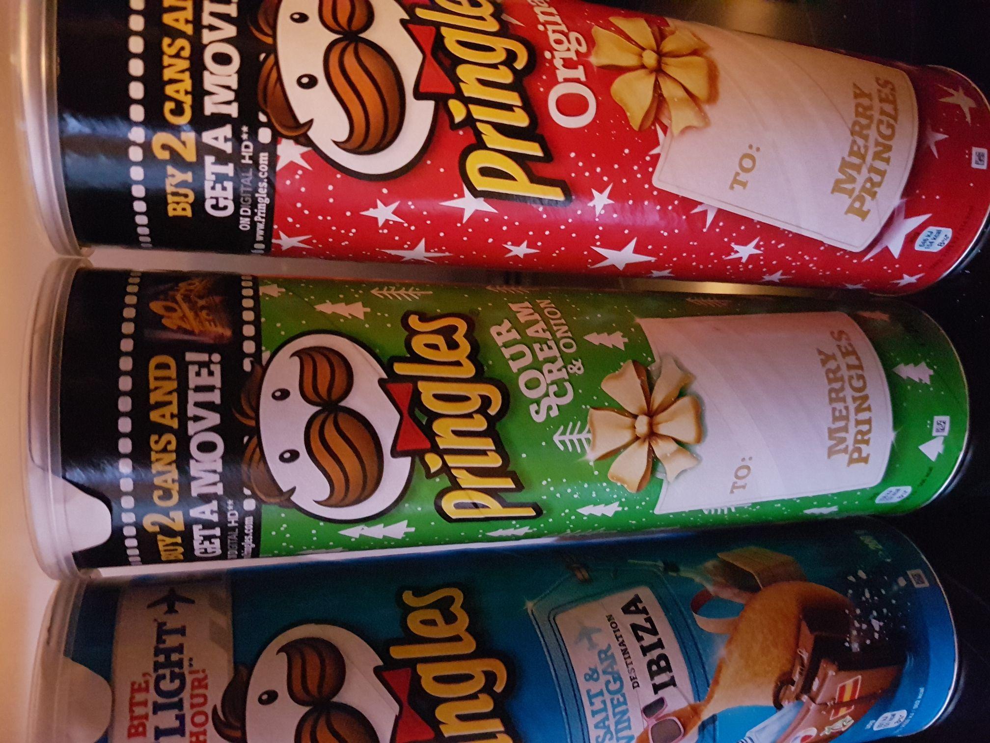 200g Pringles £1 @ Heron / Tesco and Morrisons