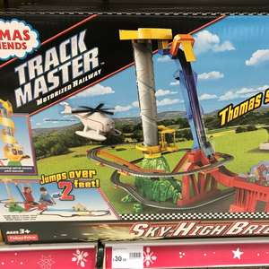 Thomas and Friends Track master Sky High bridge £30 in store at Wilkinson's Walsall